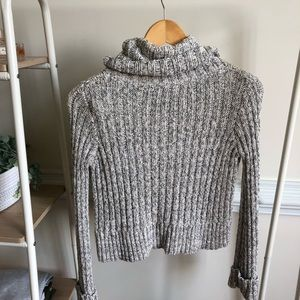 Free People Sweaters - FREE PEOPLE• cowl neck cropped knit sweater 959